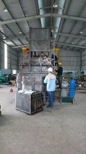 (Tiếng Việt) Lò nung lon nhôm tái chế 2 tấn