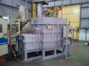 Melting and holding furnace 500kg